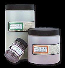 Farby-laky - Prášková farba na textil pre farbenie za studena Procion MX - 1954209