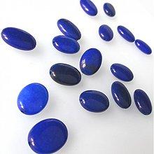 Minerály - Korálka 13x18 / Jadeit modrý - 1956469