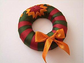 Dekorácie - Vianočný venček - škoricový - 1960425