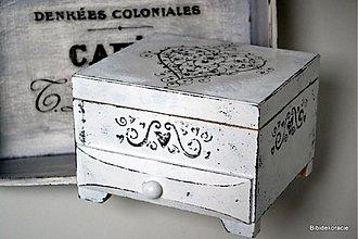 Krabičky - Srdce z ornamentu - 1962449