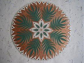 Dekorácie - Mandala Rozkvetu - 1964347