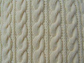 Úžitkový textil - pletené vankúše - 1965510