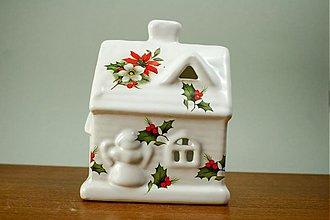 Svietidlá a sviečky - Svietiaci domček s anjelikom - 1968969