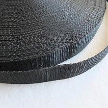 Galantéria - Popruh POP 20 mm čierny - 1973254