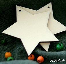 Dekorácie - Vianočná ozdôbka jednoduchá - hviezda - 1975744