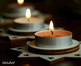 Svietidlá a sviečky - Vianočný svietnik HVIEZDA - 1981841
