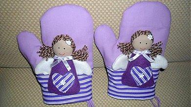 Úžitkový textil - anjelská chňapka - 1983178