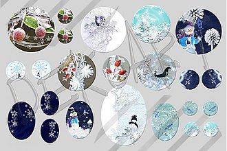 Materiál ručne robený - Motívy na šperky č.19-akcia na všetky motívy-4+1zdarma - 1983958
