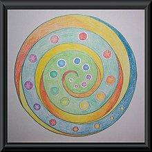 Kresby - Začiatok a koniec sú jedno - mandala - 2001947