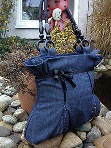 Veľké tašky - Elegantná riflová - 2003404