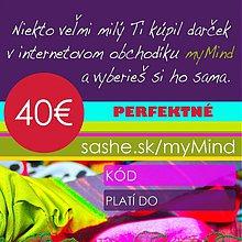 Darčekové poukážky - ♡ Kupónik 4o€ ♡ - 2004390