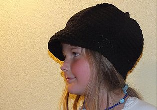 Detské čiapky - Kšiltovka čierna - 2016949