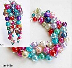 Sady šperkov - Farebné perličky - 2022362