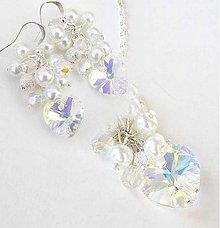 Sady šperkov - Crystal AB súprava - 2027060