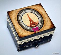 Krabičky - Eiffel ....ovečka - 2030043
