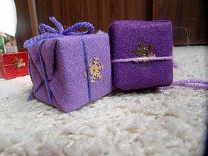 Dekorácie - krabičky veľké filcové - 2034020