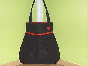Veľké tašky - Čierno-červená - 2045906
