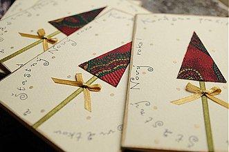 Papiernictvo - Vianočná pohľadnica - 2046303