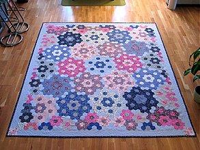 Úžitkový textil - Quilt Babičkina záhrada - 2047766
