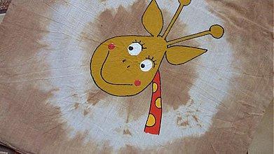 Veľké tašky - taška žirafková - 204841