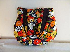 Veľké tašky - Lúčne kvety - stredne veľká taška - 2051917