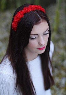 Ozdoby do vlasov - Snow White - 2052201