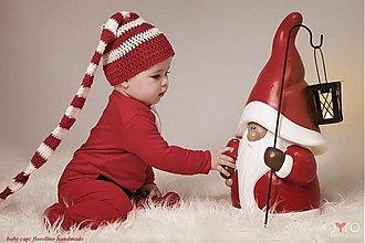 Detské čiapky - maxi long detská čiapka - 2052541