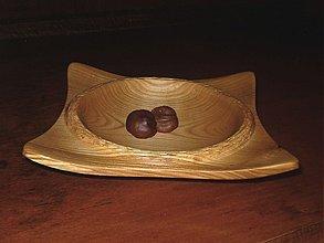 Nádoby -  Moderná miska z čerešničky / objednávka - 20539