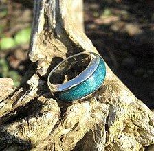 Prstene - Strieborný prsteň - 2058612