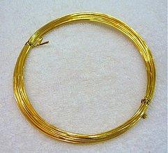 Suroviny - Dekor.drôt 1mm - 2058860