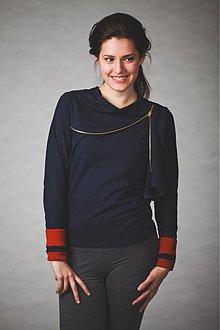 Tričká - Zipped winter (model Natsy) - 2060430