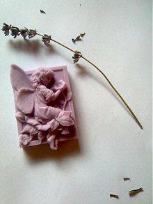 Dekorácie - levanduľová víla - 2061149