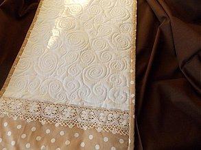 Úžitkový textil - Bodky - štóla - 2065662