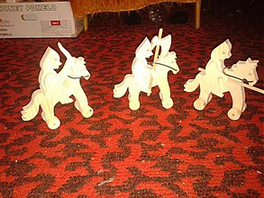 Hračky - bojovníci na koni - 2066550