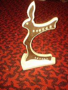 Hudobné nástroje - Harfa - 2068846