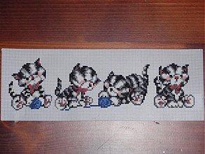 Hračky - Vyšívané mačičky - 2070165
