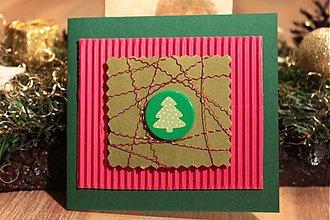 Papiernictvo - Malý zelený stromček - 2076577