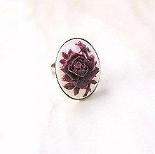 Prstene - Prsten s růží - 2076800