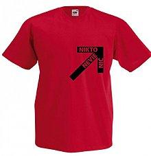 Oblečenie - Nikto nevie.. black Vneck - 2076807