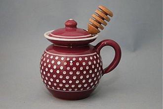 Nádoby - Dóza na med s jedním ouškem - 2078064