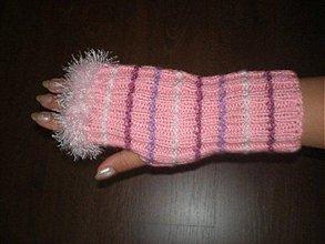 Rukavice - Ručne pletené rukavice - 208103