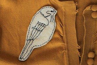 Odznaky/Brošne - Vtáčik - 2088563