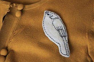Odznaky/Brošne - Vtáčik - 2088593