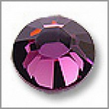 Galantéria - Hotfix kamienky: fialové - amethyst, SS10 144 ks - 209810