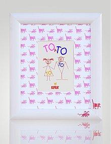 Rámiky - Detský rámik TOaTO 1 na foto 13x18 cm - 2105722