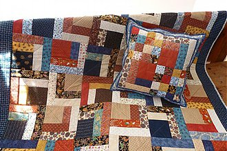 Úžitkový textil - scrap quilt - 2106386