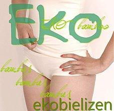 Bielizeň/Plavky - EKO nohavičky z bambusu - 2111345