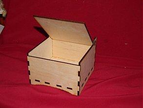 Polotovary - Krabička z preglejky - 2117126