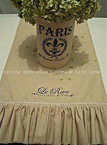 Úžitkový textil - Francúzsky obrus/štóla - 2119945