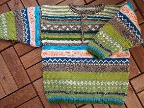 Detské oblečenie - Pestrý svetrík - 2120127